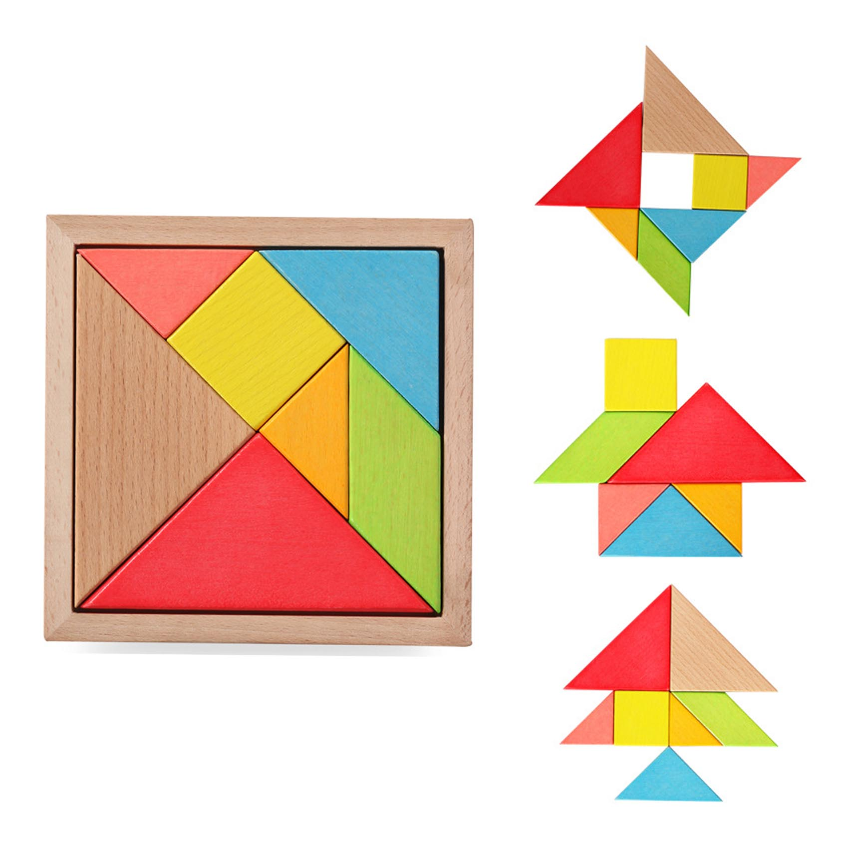 Kids Wood Tangram