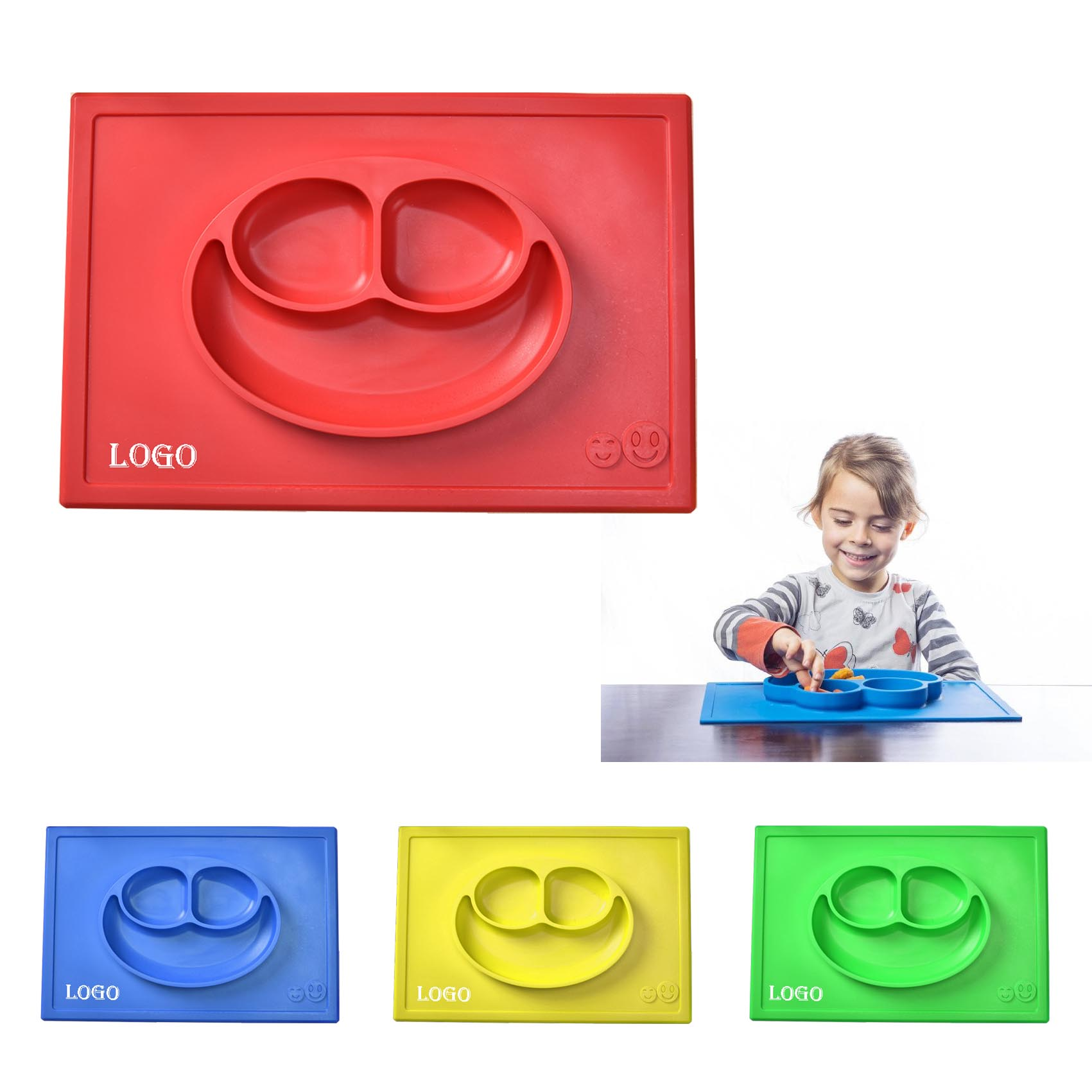 Silicone Plate for Children