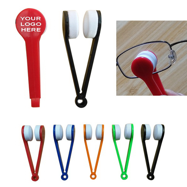 Microfiber Glasses Cleaning Brush Spectacles Cleaner