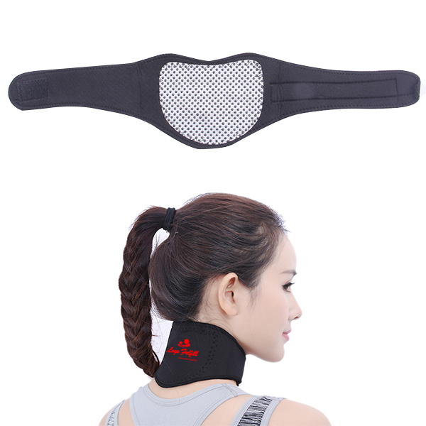 Black Magnetic Neck Guards
