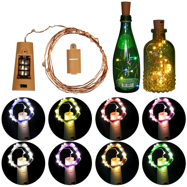 LED Bottle Stopper String Light