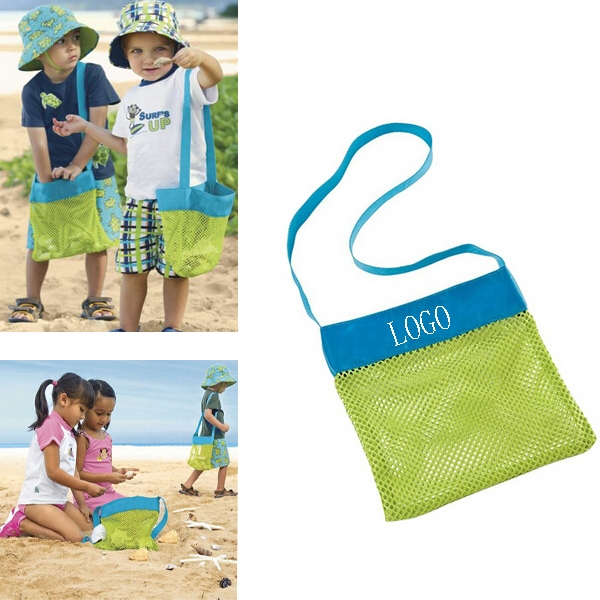Mesh Kids Beach Collecting Bags