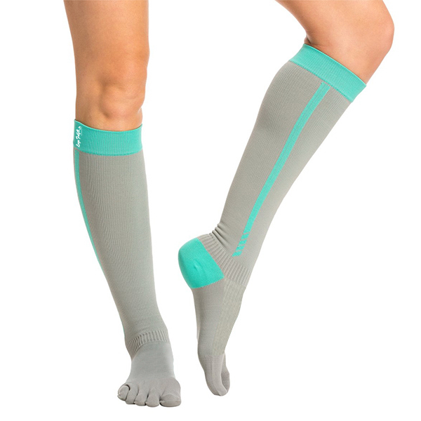 Long Five Toe Knee Yoga Socks