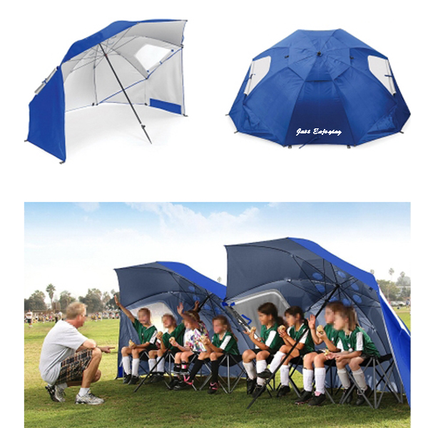 Blue Portable All Weather Umbrella