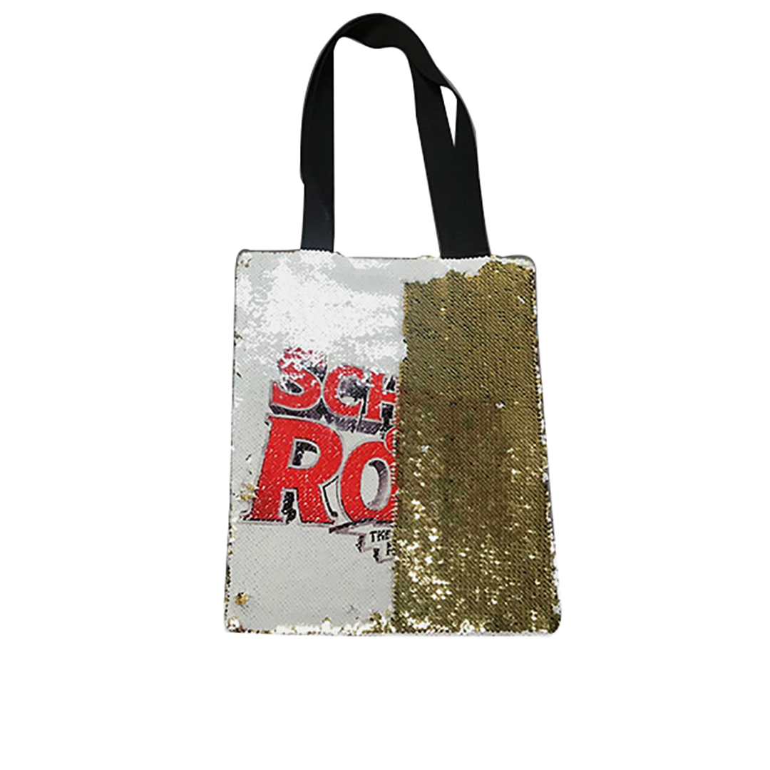 Glitter Two-Tone Reversible Sequin Tote