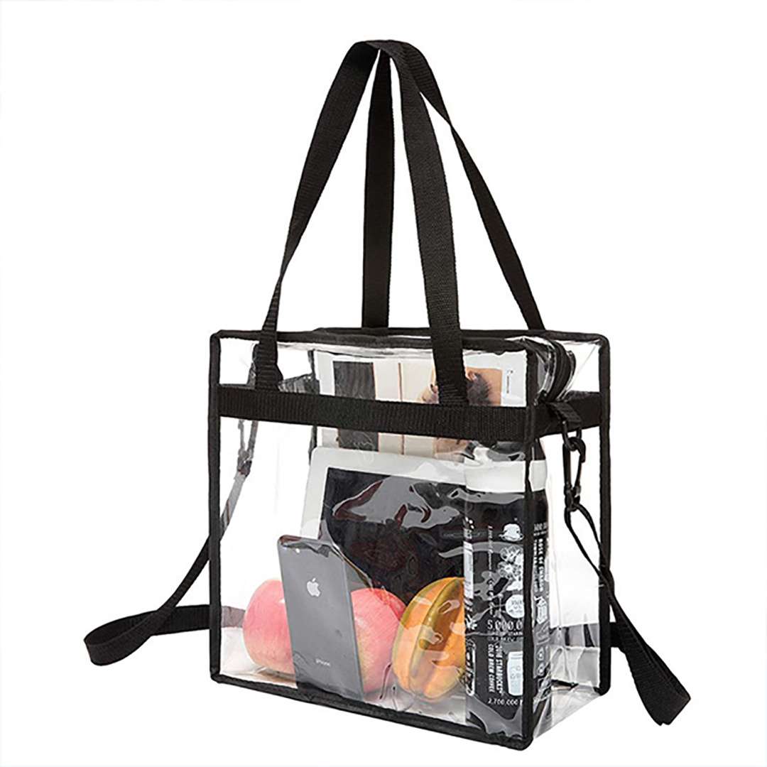 Cube Shopper Vinyl Stadium Tote Bag